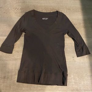 VICTORIAS SECRET TEE SHOP BROWN
